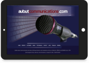 Gisèle Aubut, Aubut Communications